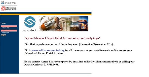 Schooltool Parent Portal