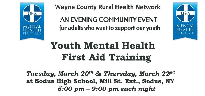 Wayne County Rural Health Network - Evening Community Event For Adults