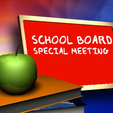 Board of Education Special Meeting - May 20, 2020