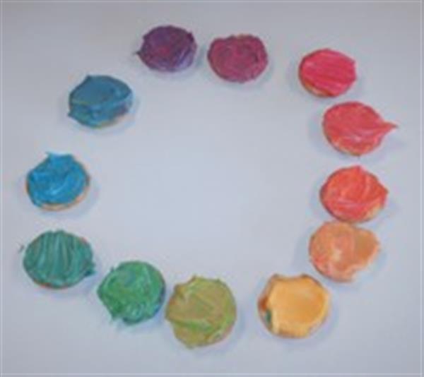 Whs Art Department Color Wheel Experimentation